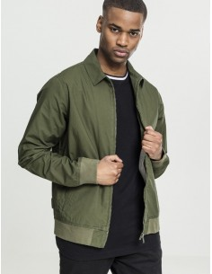 Urban Classics Chaqueta worker Harrington - Oliva