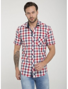 Camisa Sir Raymond Tailor manga corta - red navy