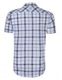 Camisa Sir Raymond Tailor manga corta - blue navy