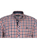 Camisa Sir Raymond Tailor - orange navy