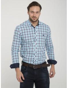 Camisa Sir Raymond Tailor - Turquesa