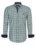 Camisa Sir Raymond Tailor - Verde y marino