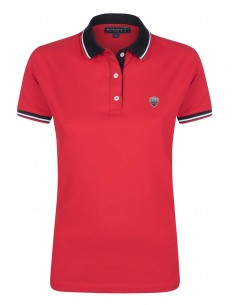 Polo Sir Raymond Tailor woman - red black