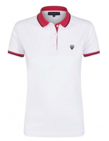 Polo Sir Raymond Tailor woman - white red