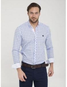 Camisa Sir Raymond Tailor -  azul claro