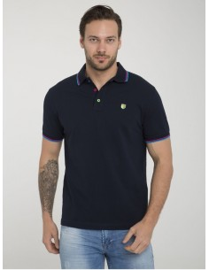 Polo Sir Raymond Tailor manga corta - Navy