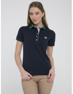 Polo Sir Raymond Tailor woman - navy/green