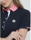 Polo Sir Raymond Tailor woman - navy/pink