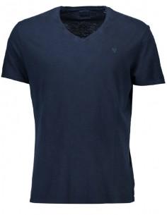 Camiseta Guess para hombre cuello V - navy