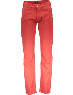 Gant - pantalón 5 bolsillos light red