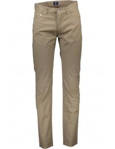 Gant - pantalón 5 bolsillos dark beige