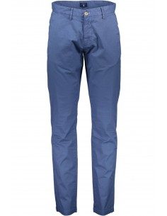 Gant - pantalón chino soft light blue