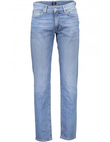 Gant - pantalón vaquero regular - azul claro TALLA 34