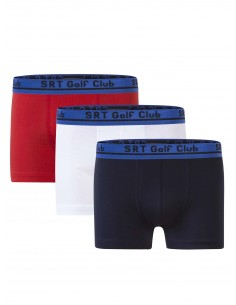 Pack de 3 Boxer Sir Raymond Tailor - Navy/Red/White