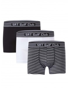 Pack de 3 Boxer Sir Raymond Tailor - Black/White/Painted