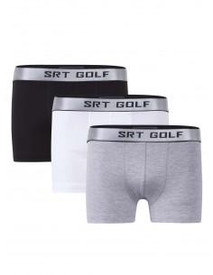 Pack de 3 Boxer Sir Raymond Tailor - Black/White/Grey