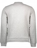 Gant - beisbolera quilted en color gris