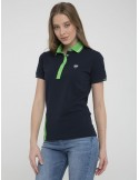 Polo Sir Raymond Tailor color block - navy/green