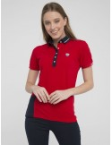 Polo Sir Raymond Tailor color block - red/navy