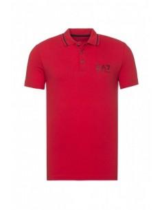 Polo EA7 de Armani - rojo