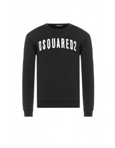 Jersey felpa dsquared black