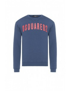 Jersey felpa dsquared blue