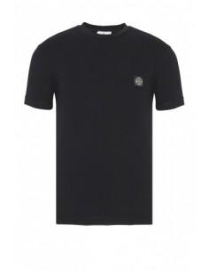 Camiseta Stone Island con logo - negra