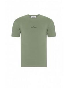 Camiseta Stone Island con logo - army