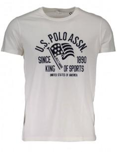 Camiseta US Polo Assn - embroyed white
