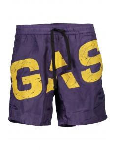 Gas - bañador maxilogo purple