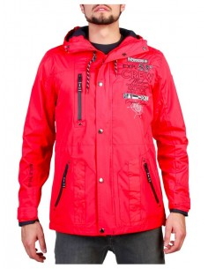 Chaqueta Geographical Norway Clement - red