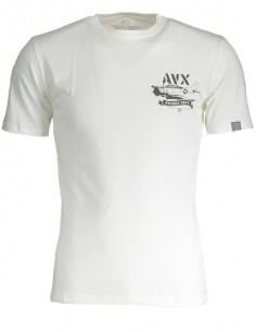 Camiseta Avirex para hombre - blanca