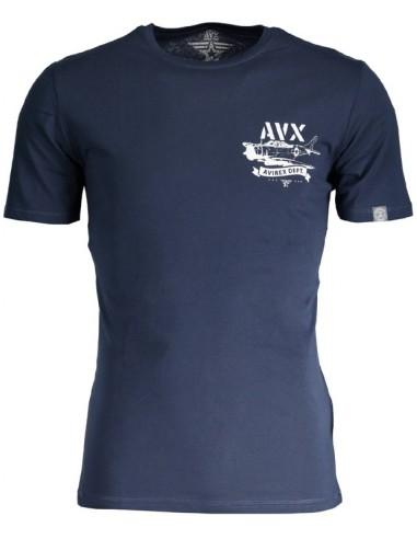 Camiseta Avirex para hombre - marino
