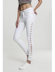 Urban Classic skinny denim lazo - blanco