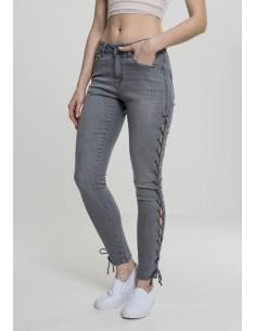 Urban Classic skinny denim lazo - gris