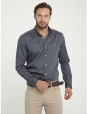 Camisa Sir Raymond Tailor fantasia - grey