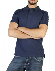 Polo Trussardi algodón premium - navy