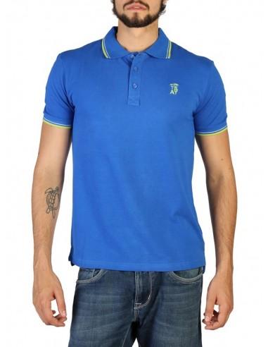 Polo Trussardi algodón premium - blue
