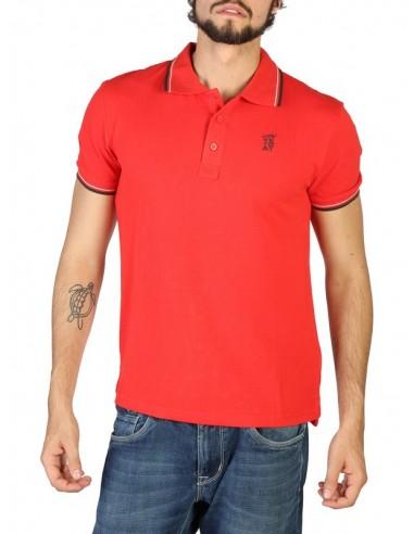 Polo Trussardi algodón premium - rosso