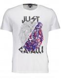 Just Cavalli camiseta para hombre - blanca