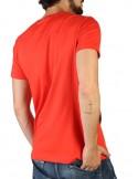 Camiseta Trussardi maxilogo red