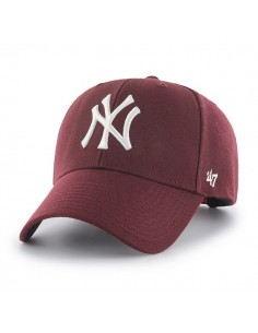 Gorra 47 Brand unisex -  New York Yankees Burdeos