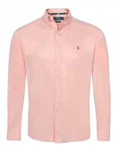 Camisa oxford Polo de hombre - old rose