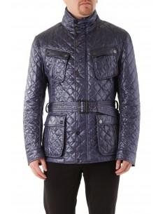 Husky - chaqueta guateada de polyester en marino