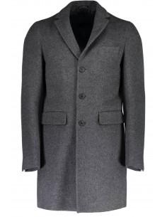 Gant - Abrigo elgante de paño en gris
