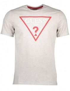 Camiseta Guess Icónica para hombre - gris claro