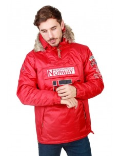 Canguro Geographical Norway Boomerang - red
