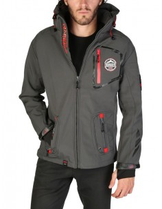 Chaqueta Geographical Norway Tacebook - gris oscuro