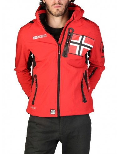 Chaqueta Geographical Norway Renade - red