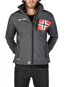 Chaqueta Geographical Norway Renade - gris oscuro